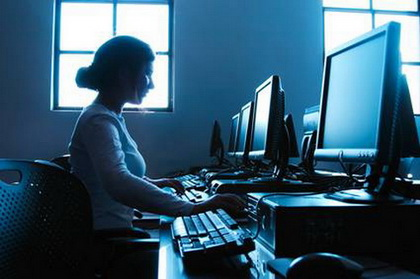 สาวทำงานกะกลางคืน